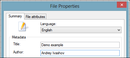 worksheet properties